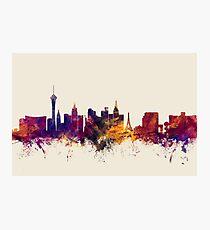Las Vegas Nevada Skyline Photographic Print
