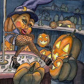 Pumpkin Stripper by TheresaLammon
