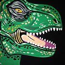 T-Rex hates Mondays too. by Stolensouljess