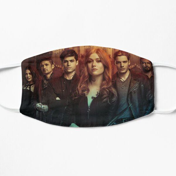 Shadowhunters Cast Flat Mask