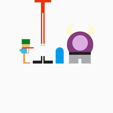 Minimalist Foster's Home for Imaginary Friends by ryderchasin