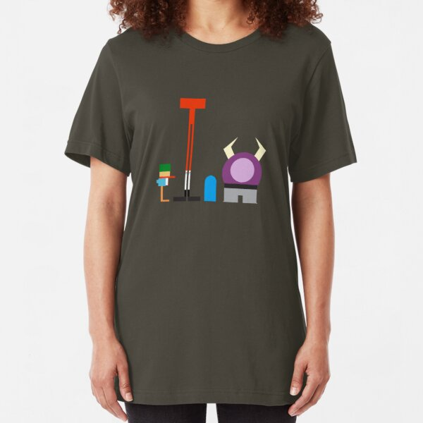 Minimalist Foster's Home for Imaginary Friends Slim Fit T-Shirt