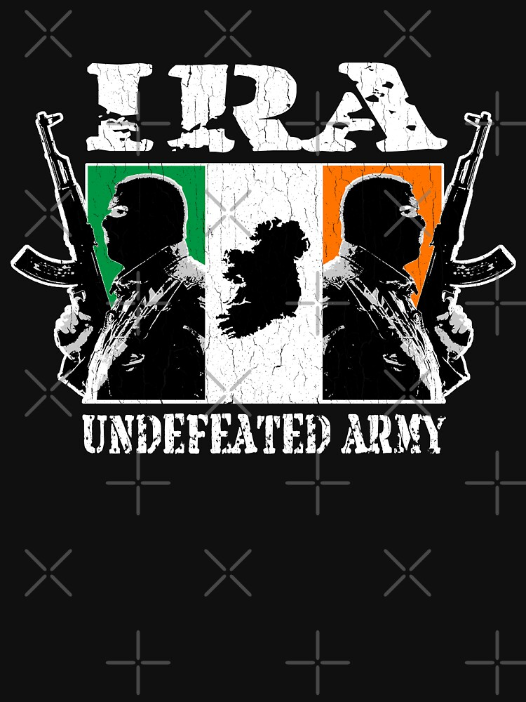 IRA Undefeated Army (Vintage Distressed)   Unisex T-Shirt