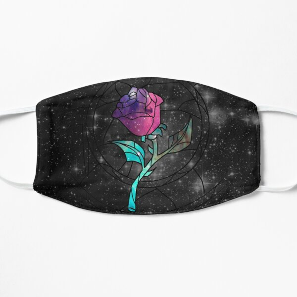 Stained Glass Rose Galaxy Mask