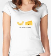 You're the cheese to my macaroni Women's Fitted Scoop T-Shirt