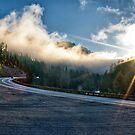 Sunrise In Alpine by Robert H Carney