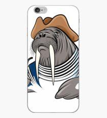 Smoking Walrus iPhone Case