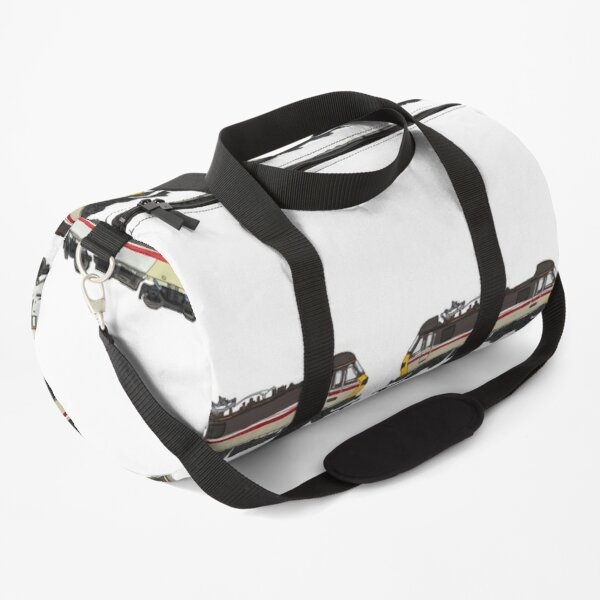 Trains Pattern Duffle Bag