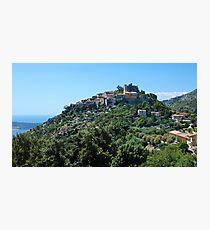 Eze, French Riviera Photographic Print
