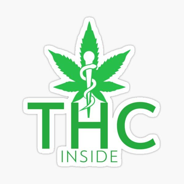 THC Inside Sticker