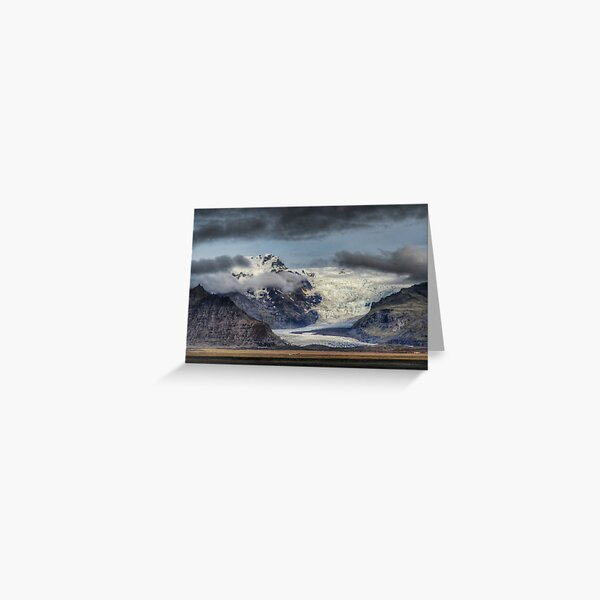 Skafatell Glacier Greeting Card