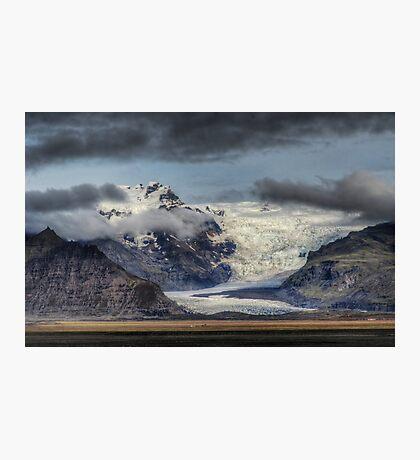 Skafatell Glacier Photographic Print