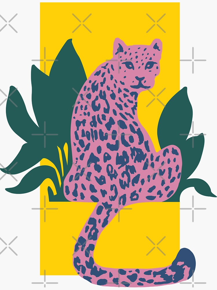 Tropical Pink Cheetah  by kat-yjk