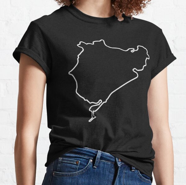 Nürburgring - Combined Circuit [outline] Classic T-Shirt