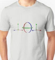 Drawn 3D Tools Unisex T-Shirt