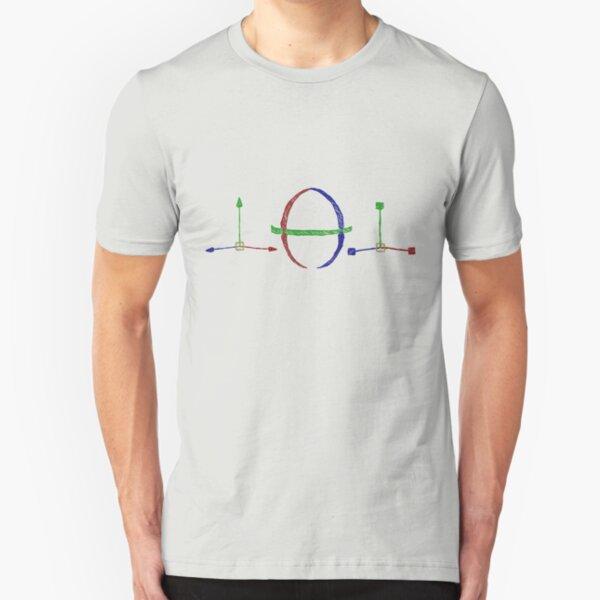 Drawn 3D Tools Slim Fit T-Shirt