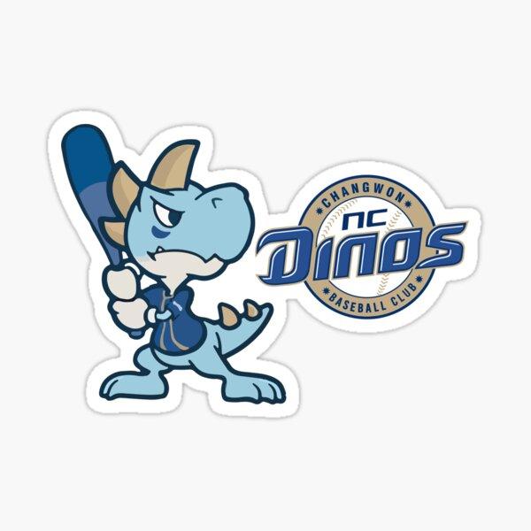 Nc Dinos  Swole Daddy aseball Club KBO Dinosaur Logo  Sticker