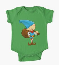 Elf Character - Holding A Sack One Piece - Short Sleeve