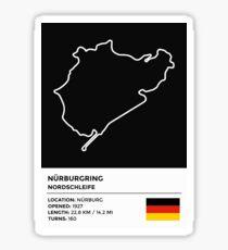 Pegatina Nürburgring [Nordschleife] - v2