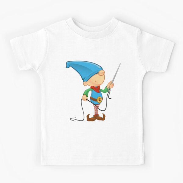 Elf Character - Needle & Thread Kids T-Shirt