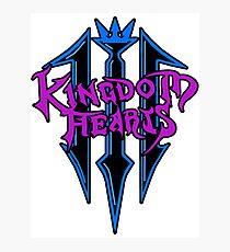 *AWESOME* KINGDOM HEARTS III Photographic Print