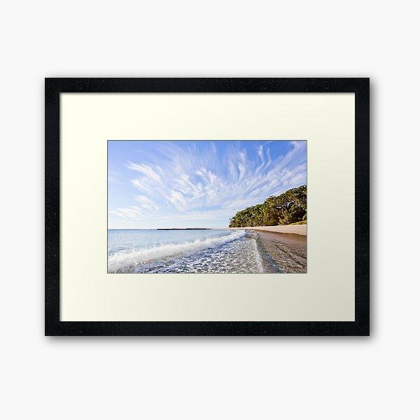 Mollymook Beach Framed Art Print