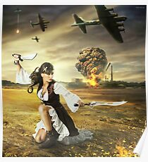 The Steampunk Warrior  Poster