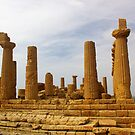 Temple Of Hera At Argrigento by Francis Drake