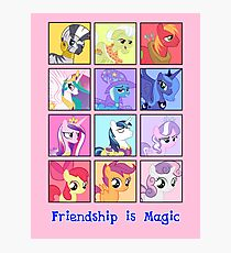 Friendship is Magic Photographic Print
