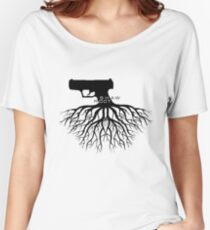 Person of Interest - Shaw + Root = Shoot Women's Relaxed Fit T-Shirt