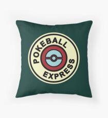 Ball Express Throw Pillow