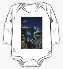 Arabian Horse Sculpture One Piece - Long Sleeve