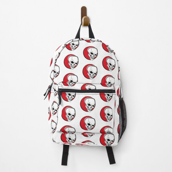 Skull with scary smile Backpack