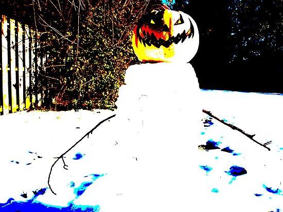 Snowman by J Ryan