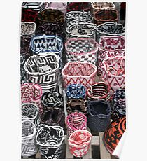Knit Bags Poster