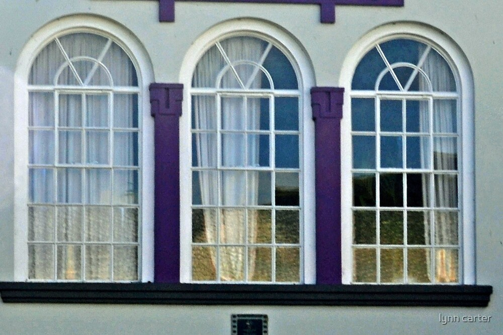 Three Windows by lynn carter