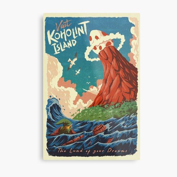 Visit Koholint Island Metal Print