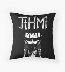johnny the homicidal maniac jthm Throw Pillow