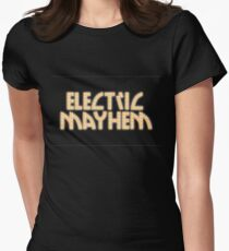 Electric Mayhem Women's Fitted T-Shirt