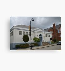 One of Carnegies Many Libraries Canvas Print