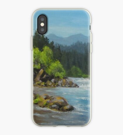 Dancing River iPhone Case