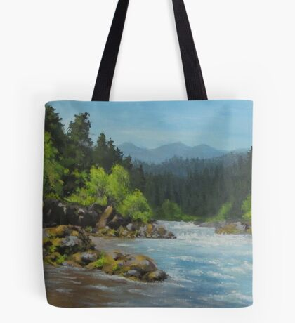 Dancing River Tote Bag