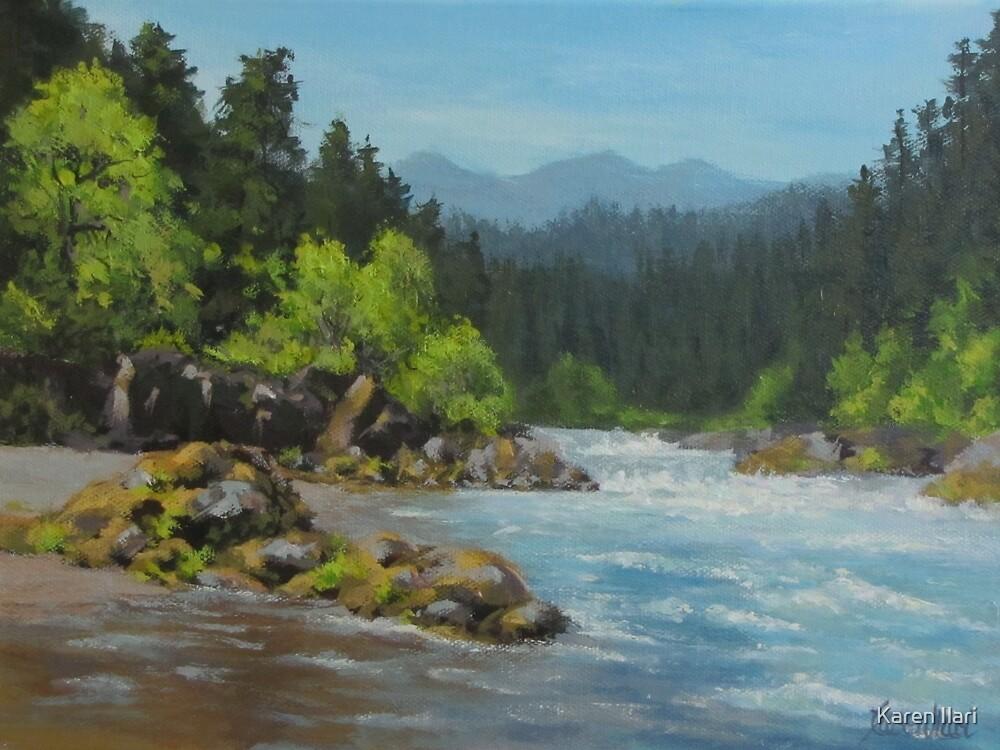 Dancing River by Karen Ilari