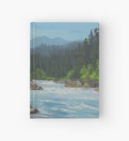 Dancing River Hardcover Journal