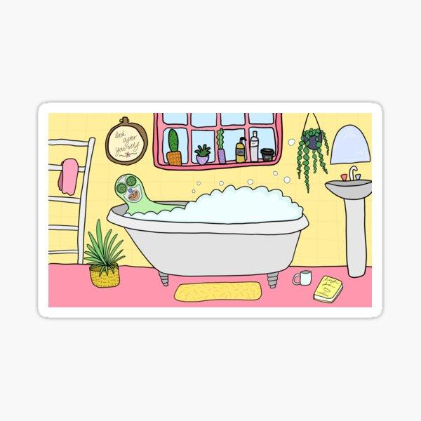 Bath Time Sticker