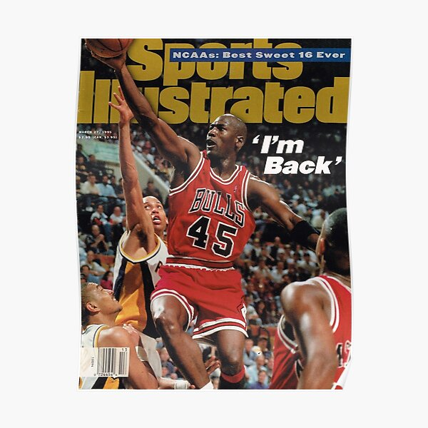 Sports Illustrated - March 1995 Jordan Poster