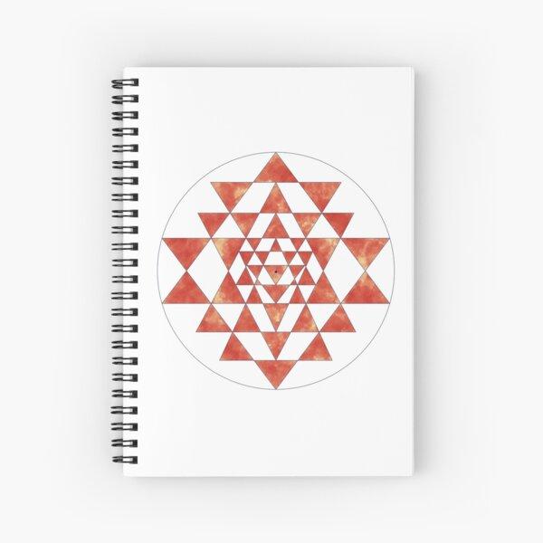 Sri Yantra 11 Spiral Notebook