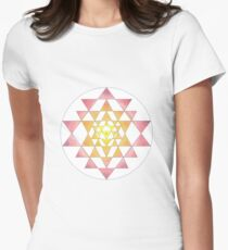 Sri Yantra 09 Women's Fitted T-Shirt