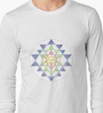 Sri Yantra 10 Long Sleeve T-Shirt