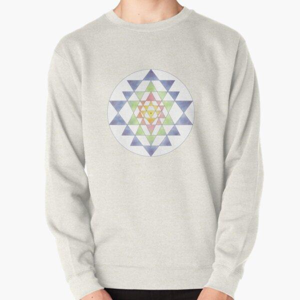 Sri Yantra 10 Pullover Sweatshirt